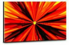 Bild auf Acryl Eruption in Red (c) Eric Nagel